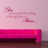 Right Pair of Shoes ~ Wall sticker / decals